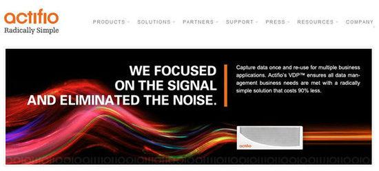 数据管理服务商Actifio再融资3350万美元