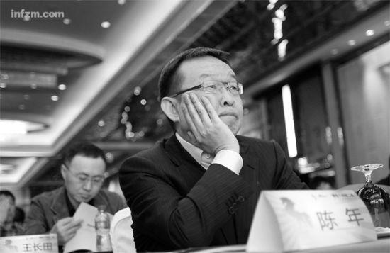 2011年12月3日,2011黑马大赛第二季暨第四届创业家年会在北京举行。图为凡客诚品创始人陈年。 (CFP/图)